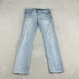 Guess Jeans Womens 31 Blue Daredevil Skinny